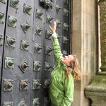 too high door knocker