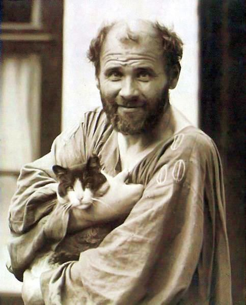 gustav klimt and his pussy