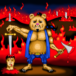 atilla the hamster painting final